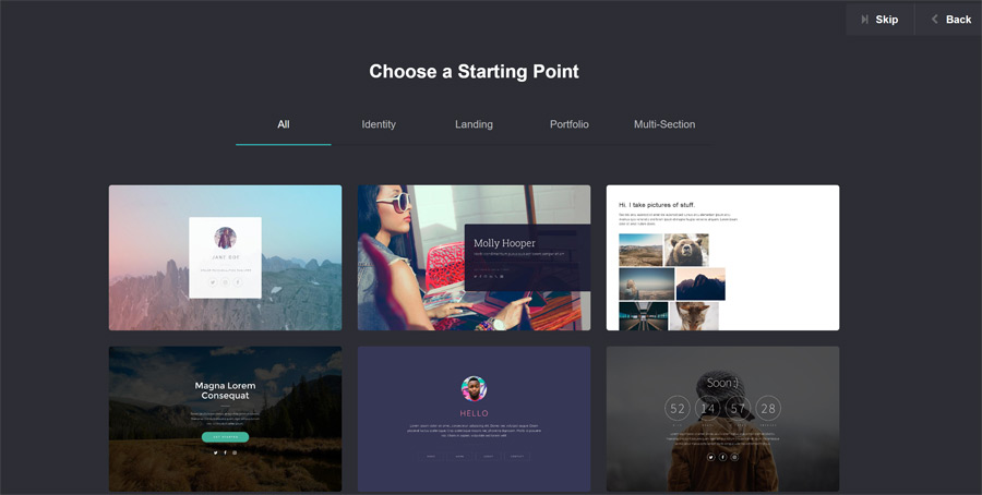 best graphic design tools featured image - screen shot of a web landing page