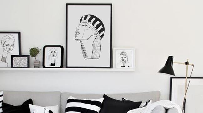 Swan Necks vol. 2 - portrait drawings by Ashtar Al Ahmad
