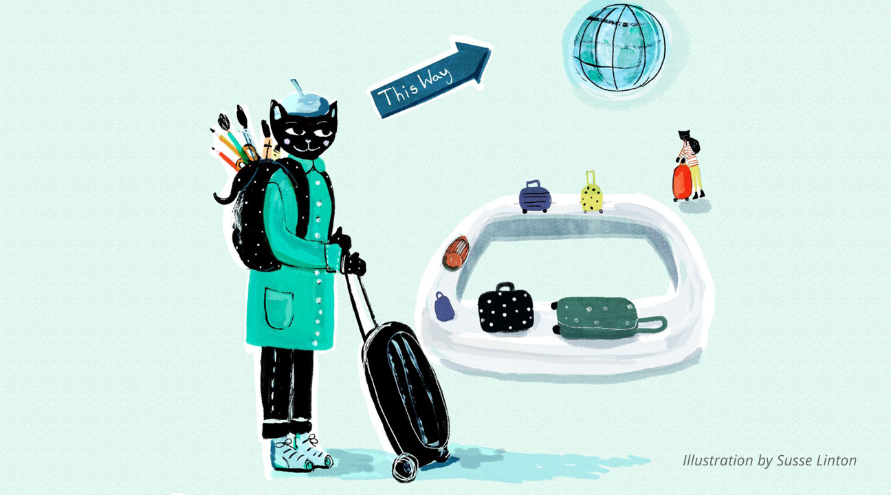 How To Move Your Design Business To Another Country featured image by Susse Linton