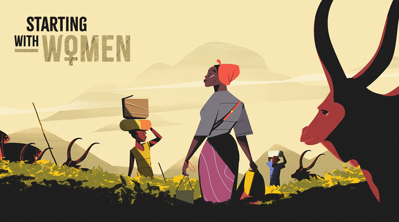 motion design december 2018 featured image - Starting With Women by Dirk Jan Haarsma