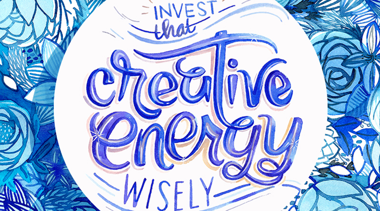 typography examples featured image - Invest that Creative Energy Wisely by Amarilys Henderson