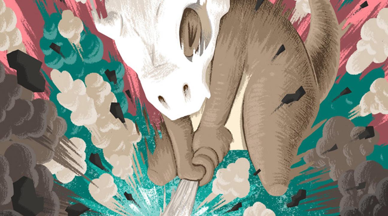 digital art inspiration july 2016 featured image - Cubone by MUTI in Pokémon 20th Anniversary