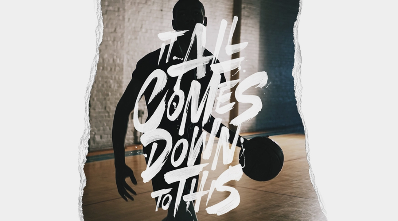 best typography designs june 2019 featured image - It All Comes Down To This by Laura Dillema