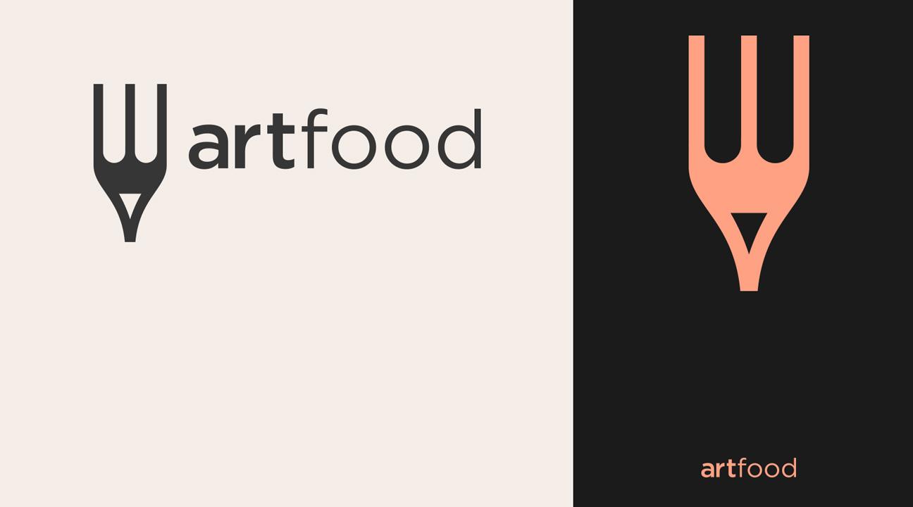 best logo design december 2019 featured image Art Food Logo Design by Second Eight
