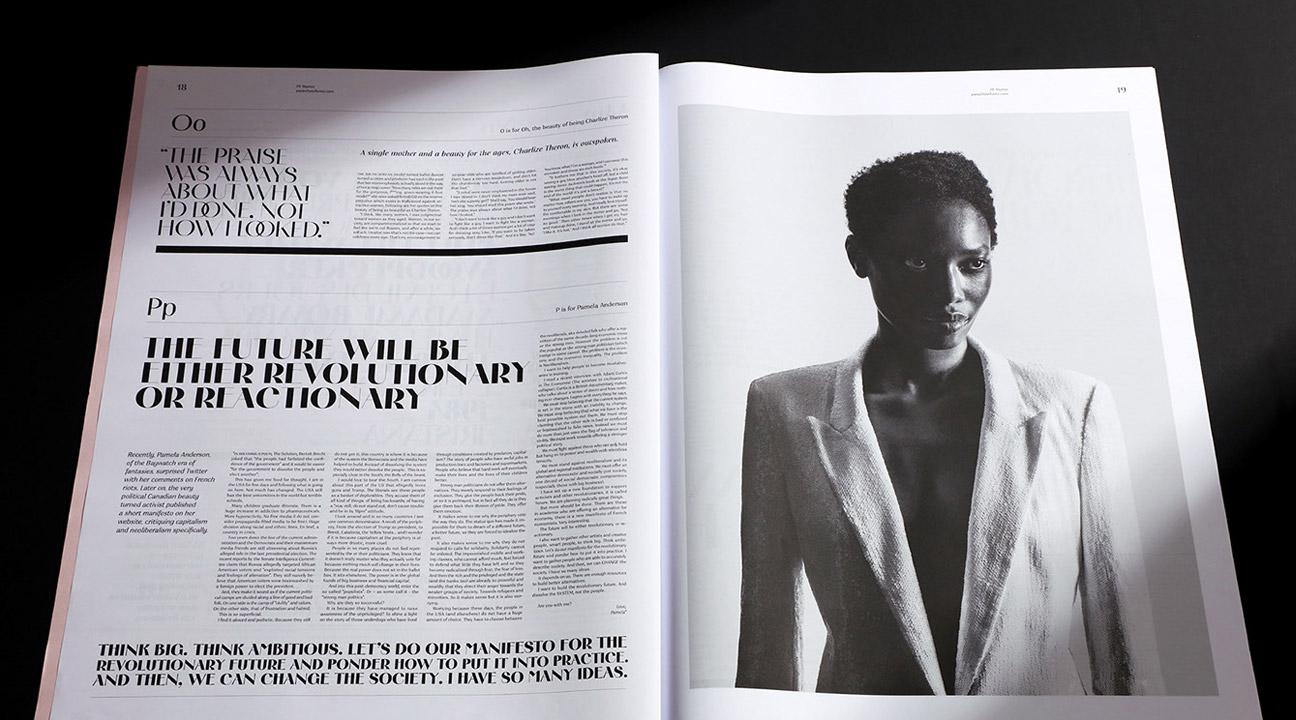 best typography design 2020 featured image - Marlet AntiManifesto - XXL Typographic Compendium by Parachute® Typefoundry