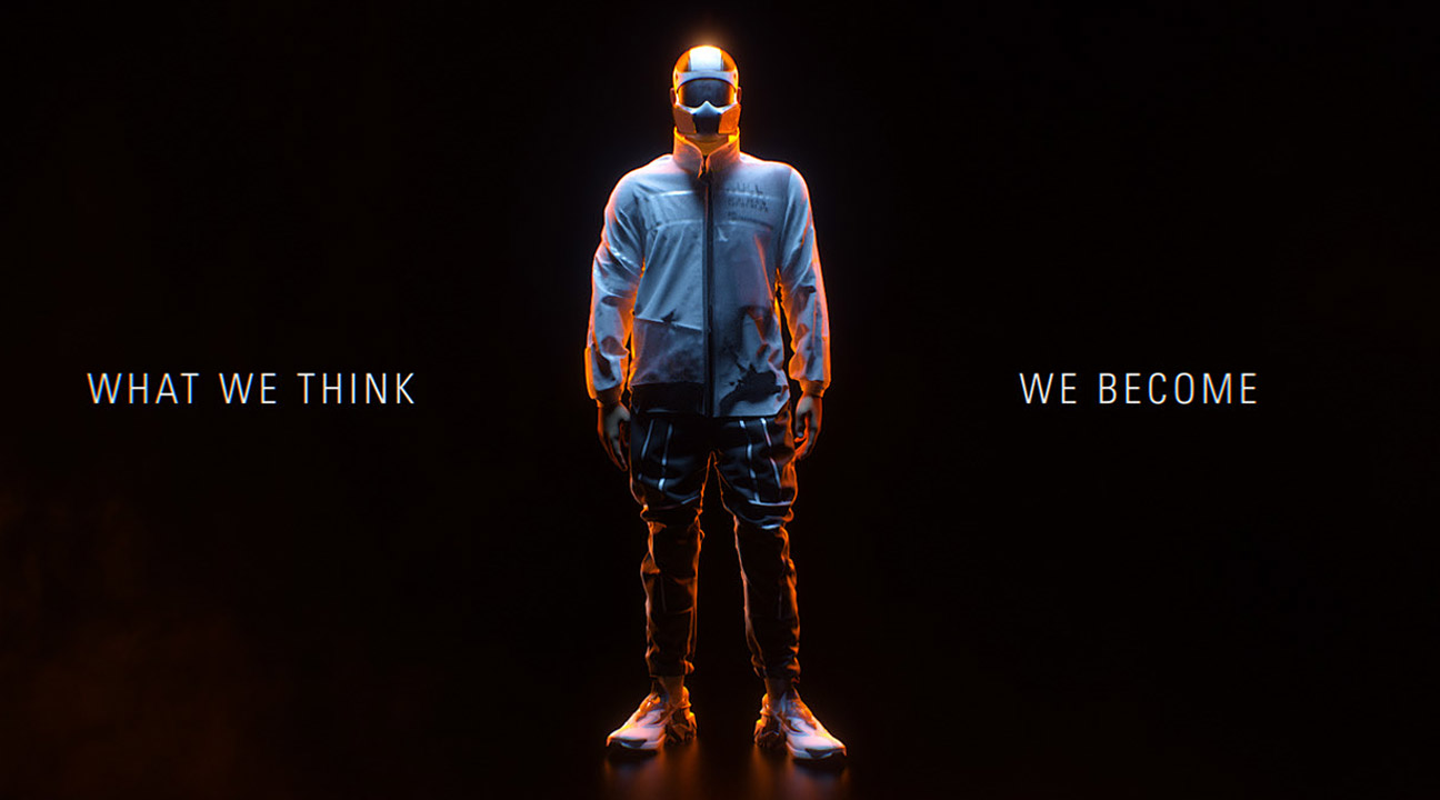 motion design may 2020 featured image - WHAT WE THINK, WE BECOME by Solid VFX lab