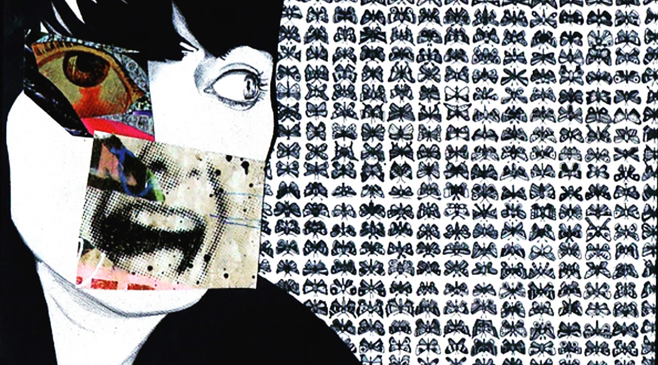 creepy art featured image - collage art by Fiona Couturier