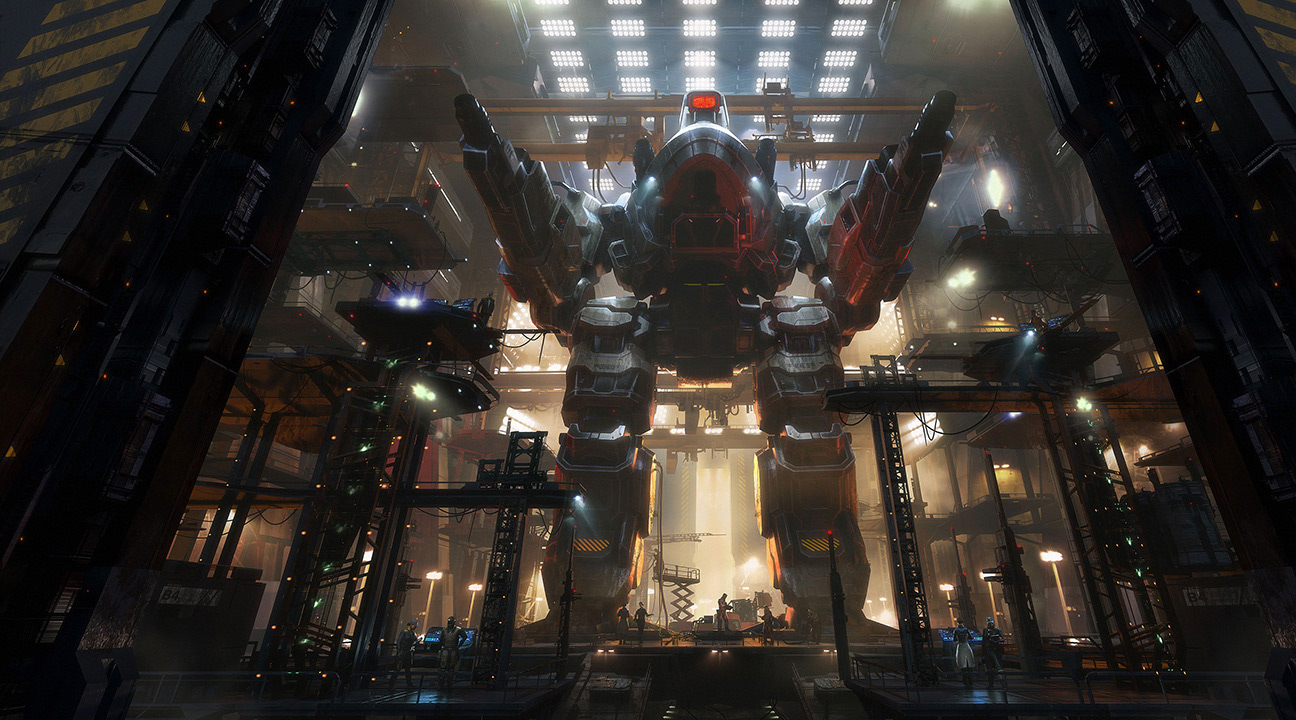 motion design - february 2021 featured work - Battletech: Heavy Metal by Gia Nguyen