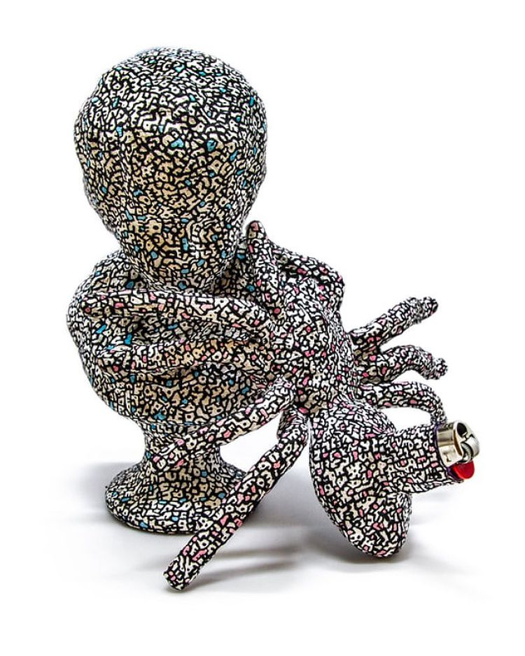 Kid Lighter sculpted art lighter by Christina Kenton