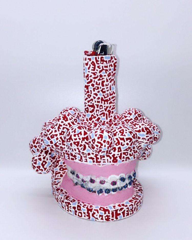 Soft Dental Lighter sculpted art lighter by Christina Kenton