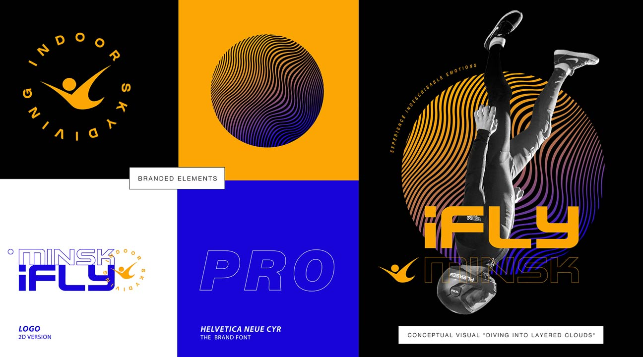 best logo design april 2021 featured image - Corporate Identity for iFly Minsk by Moloko Creative