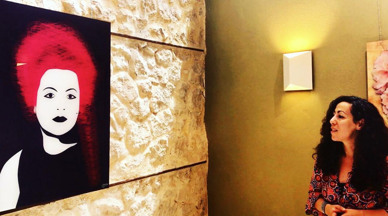 Houda Bakkali's Solo Exhibition – Parado De Lorca, Spain Image by Patxi Maroto