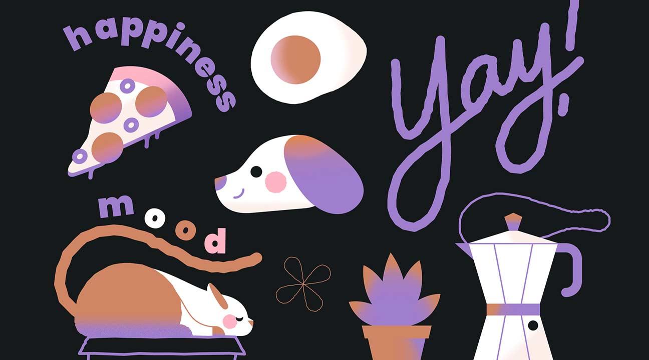 beautiful animated gif may 2021 featured image - Sticker GIFs by Elen Winata
