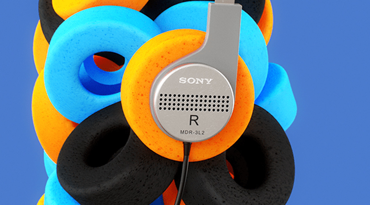 motion design inspiration may 2021 featured image - Sony Mixtape by INK Studio