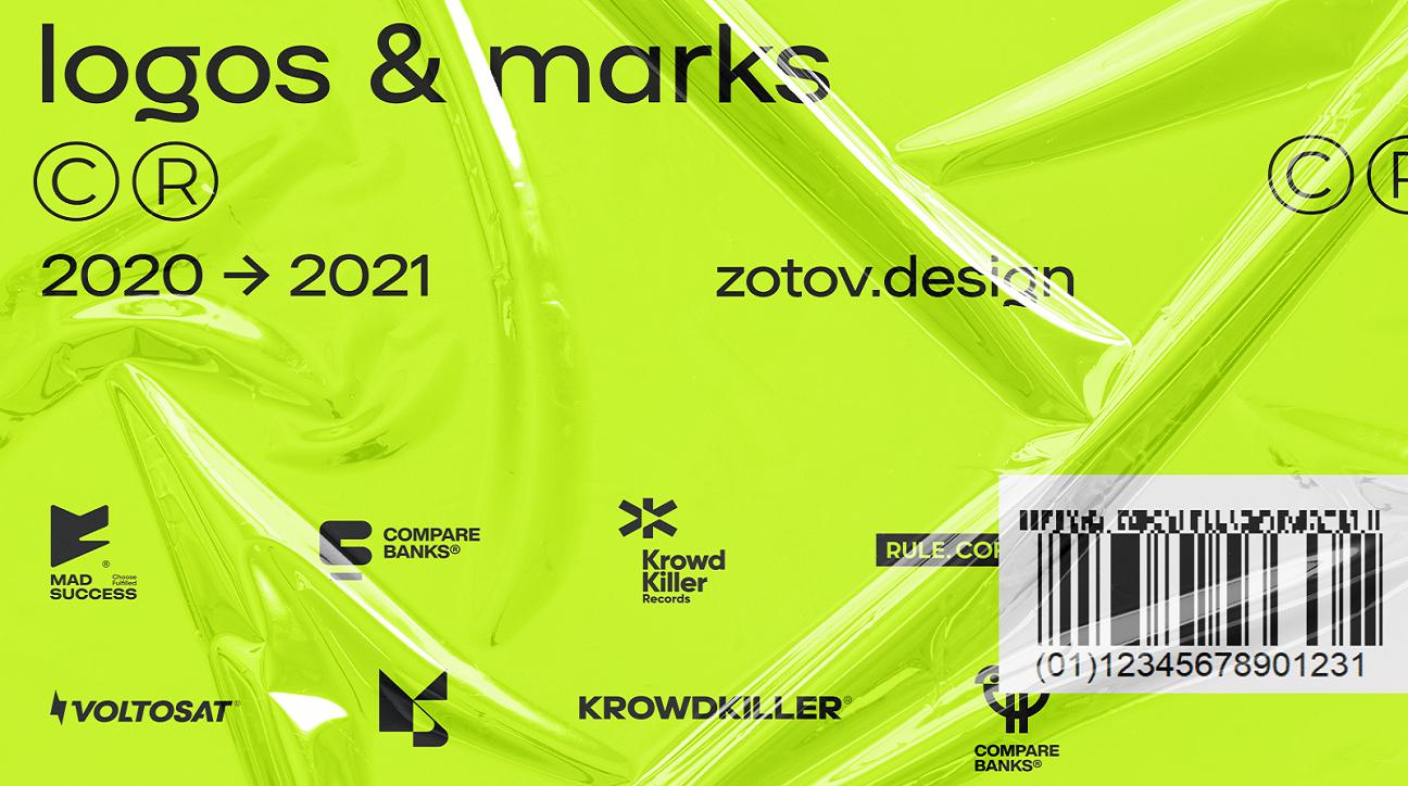 logo design inspiration june 2021 featured image - Logos & Marks 2021 byNick Zotov