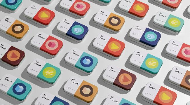 candy packaging featured image - Bi·Şeker | Bi·Lokum by Naz Kayalar