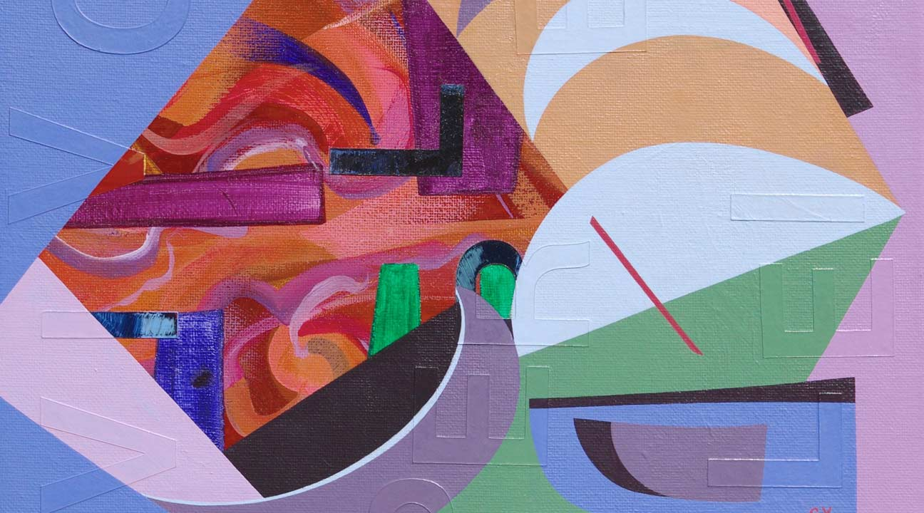 art inspiration september 2021 featured image - geometric abstraction by genia yusim