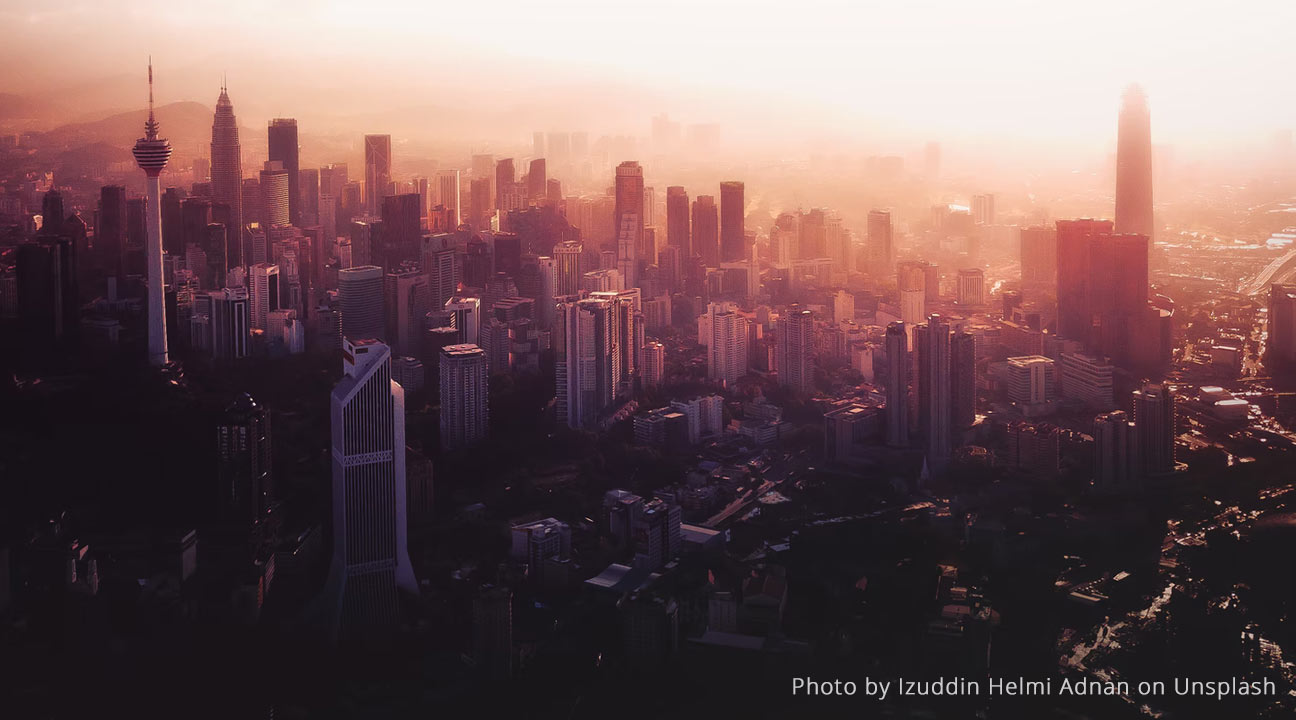 how creatives can stay resilient in the new normal - kuala lumpur city skyline at dusk